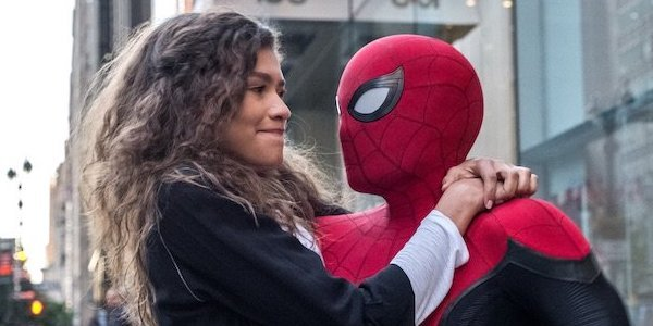 Zendaya and Tom Holland in Far From Home