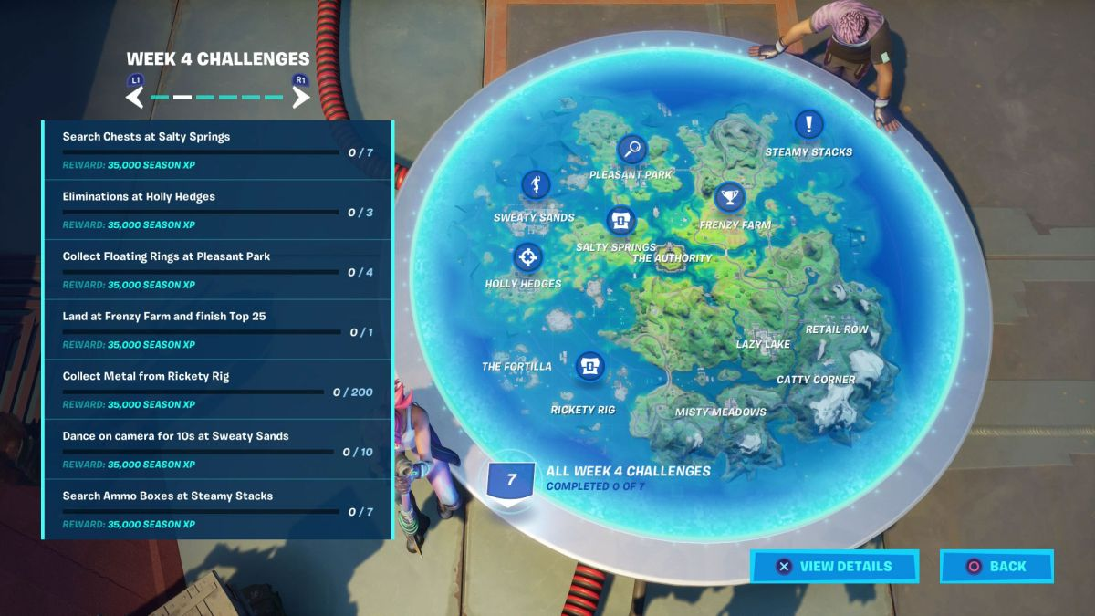 Fortnite Week 4 challenges: How to finish all of the weekly milestones