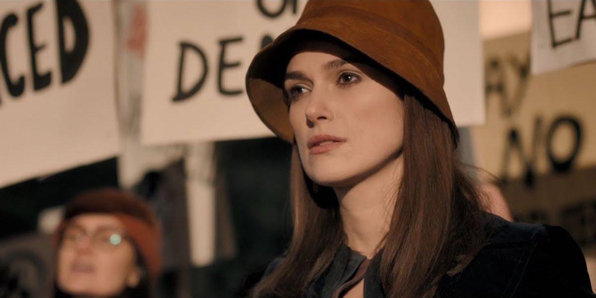 Keira Knightley as Sally Alexander in Misbehaviour