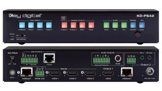 Key Digital has introduced the Presentation Solutions family of products integrating a soft-codec enabling system with HDBT/HDMI/audio/control hardware designed for professional audio video installations.