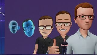 Facebook VR avatars