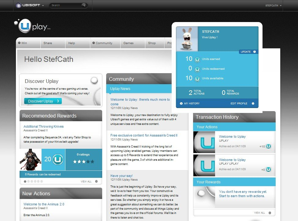 Ubisoft's Uplay Service Launches With Assassin's Creed II #10283