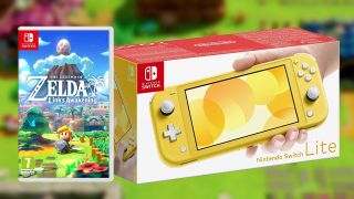 Buy a Nintendo Switch Lite and get Legend of Zelda: Link's Awakening for free