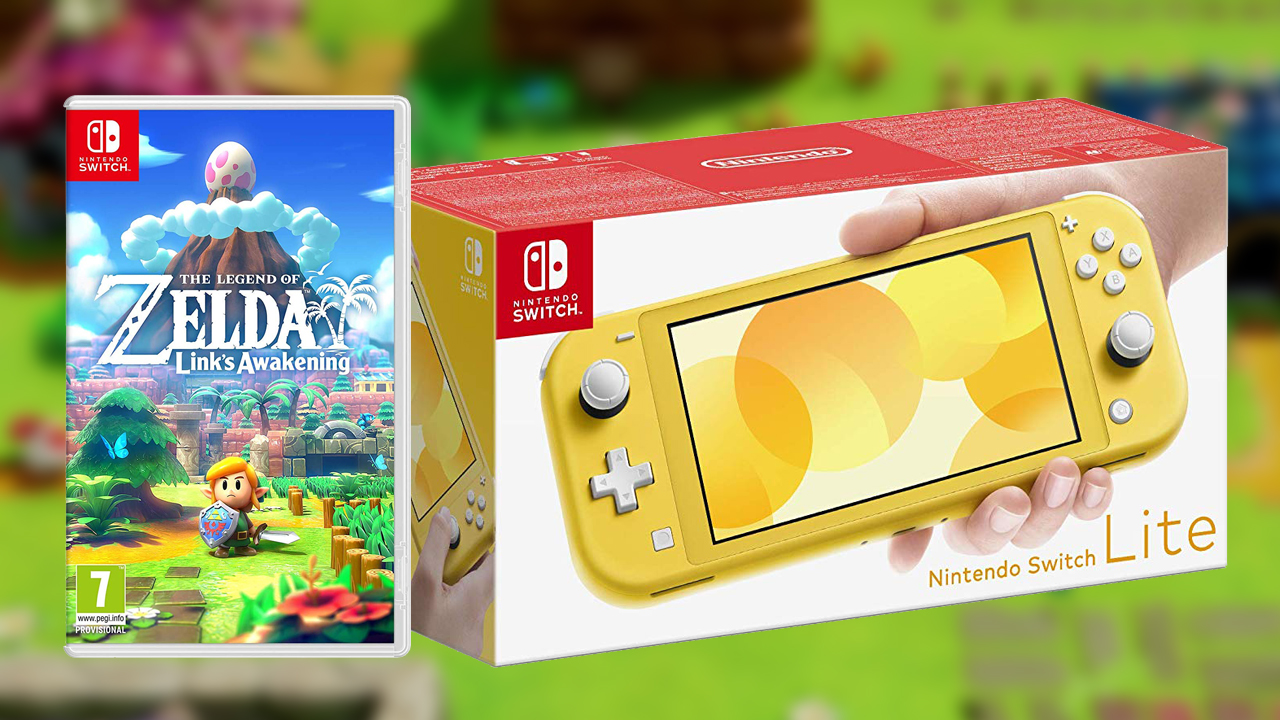 Buy A Nintendo Switch Lite And Get Legend Of Zelda Link S