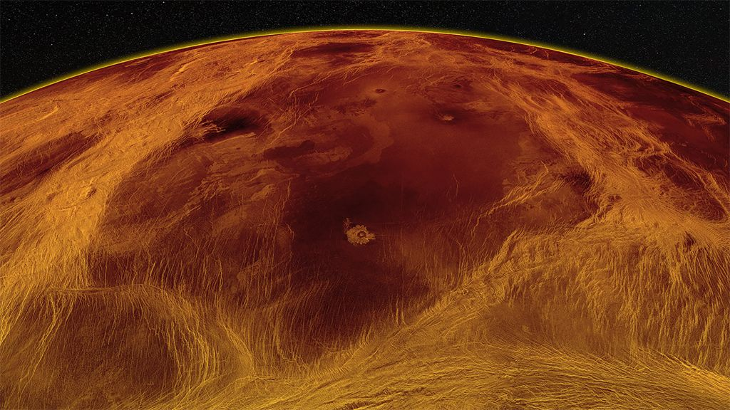Nighttime weather on Venus revealed for the 1st time