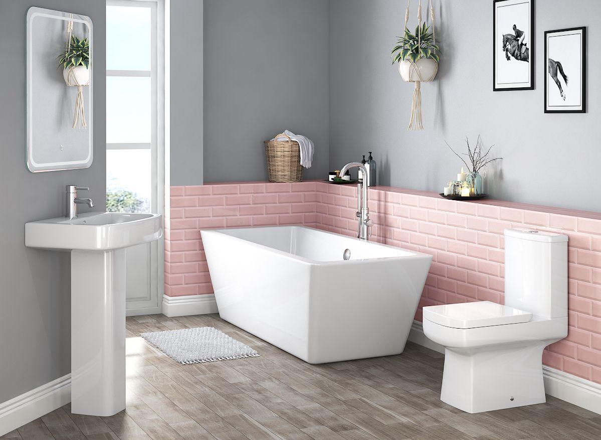 surprising pink bathroom design | Bathroom suites: 7 designs to inspire your remodel | Real ...