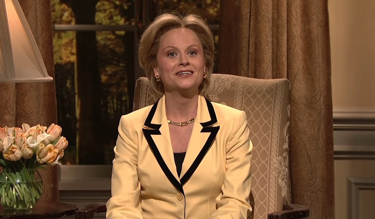 Hilary Clinton Amy Poehler Saturday Night Live