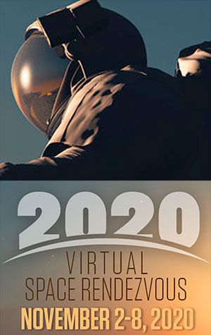 The Astronaut Scholarship Foundation's virtual Space Rendezvous runs from Nov. 2-8, 2020.