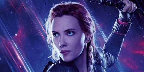 Scarlett Johansson - Avengers: Endgame Poster