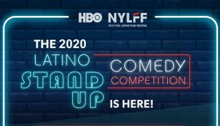 Latino Stand-Up! Competition flyer from HBO.