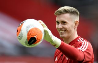 Dean Henderson ramps up pressure on Ole Gunnar Solskjaer while on England duty