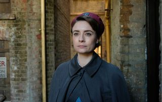Call the Midwife character Valerie, looking sad