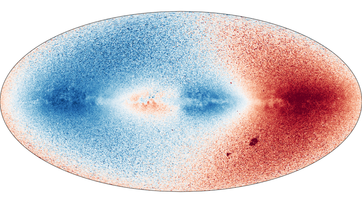This 3D Color Map of 1 7 Billion Stars in the Milky Way Is
