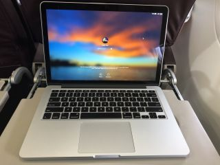 MacBook Pro flight
