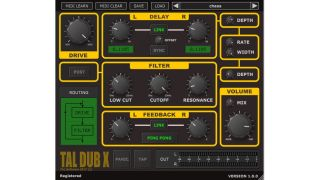 Togu Audio Line's TAL-Dub delay plugin is reborn as TAL-Dub