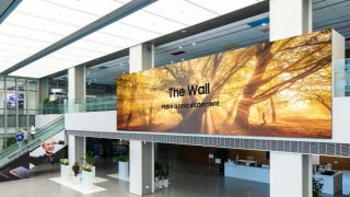 Samsung The Wall 2021: 1000-inch microLED display for commercial applications