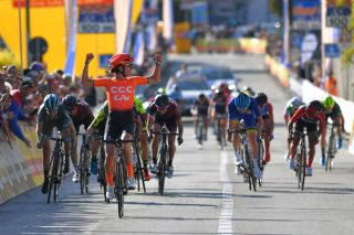 Marianne Vos delivered such a powerful sprint at Trofeo Alfredo Binda in 2019 that she had time to start the celebrations before she went over the line