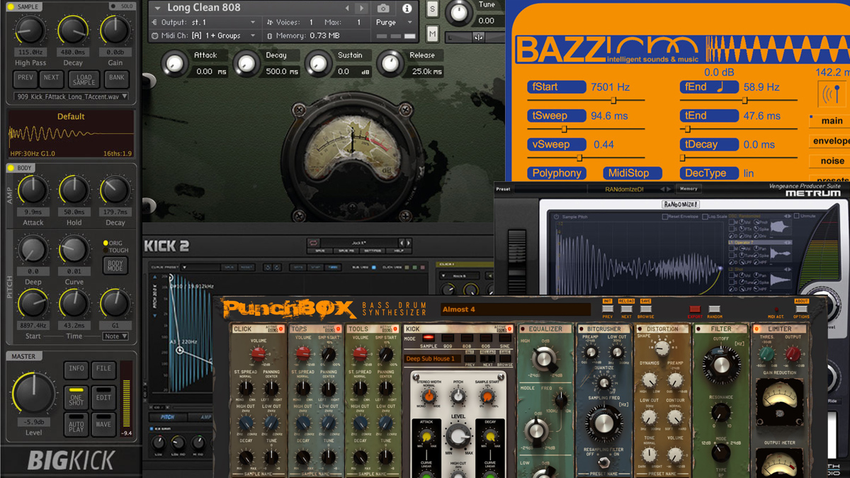 6 of the best VST/AU kick drum plugins | MusicRadar