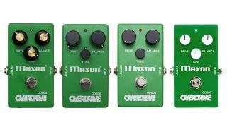 Maxon OD808 40th anniversary pedals