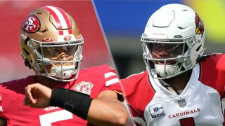 Trey Lance and Kyler Murray will face off in the 49ers vs Cardinals live stream