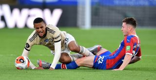 Crystal Palace v Manchester United – Premier League – Selhurst Park