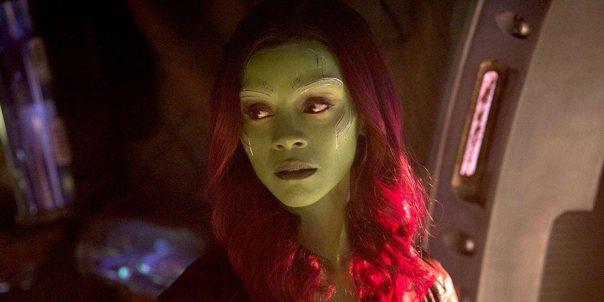 Zoe Saldana - Avengers: Infinity War