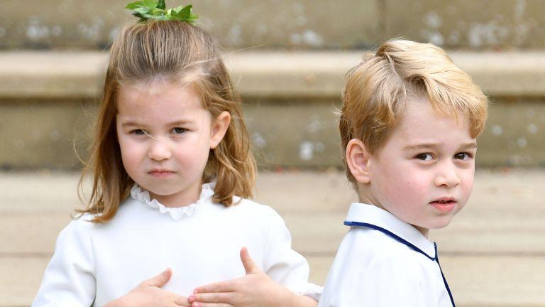 Cambridge kids Prince George and Princess Charlotte