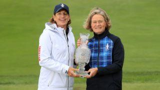 2019 solheim cup live stream euopre vs usa golf Juli Inkster Catriona Matthew