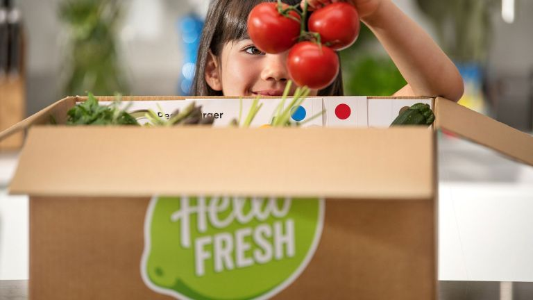 hellofresh: food delivery box