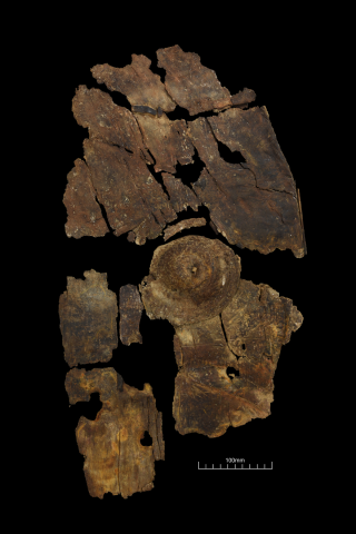 Researchers discovered a new Iron Age shield in Leicester.