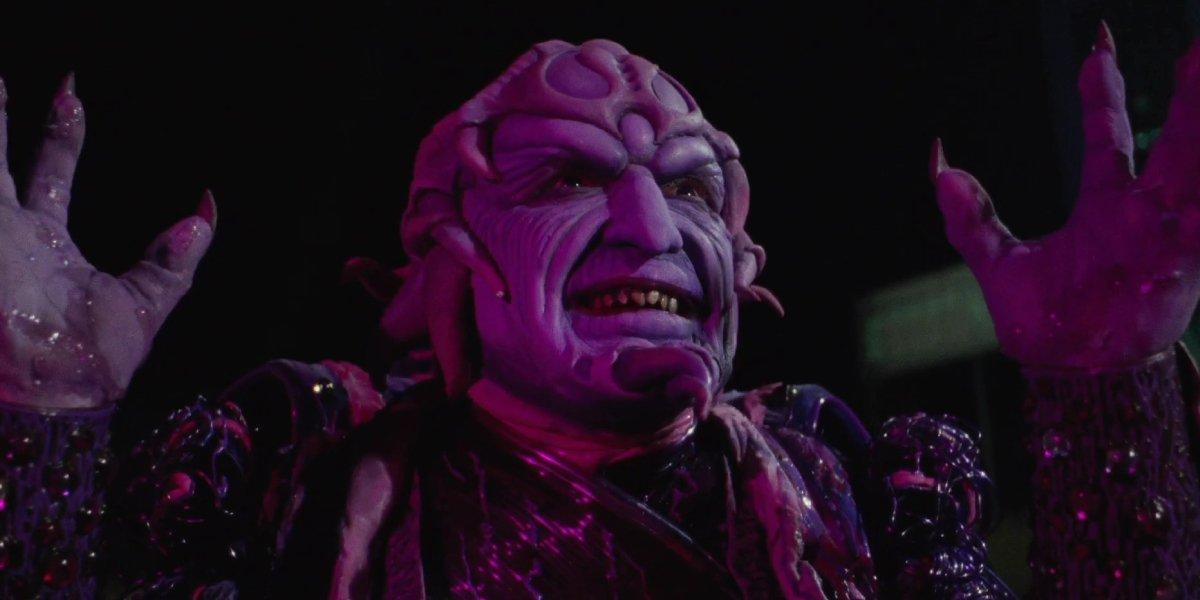 Paul Freeman as Ivan Ooze in Mighty Morphin Power Rangers: The Movie