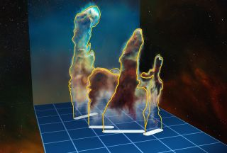 Pillars of Creation 3D