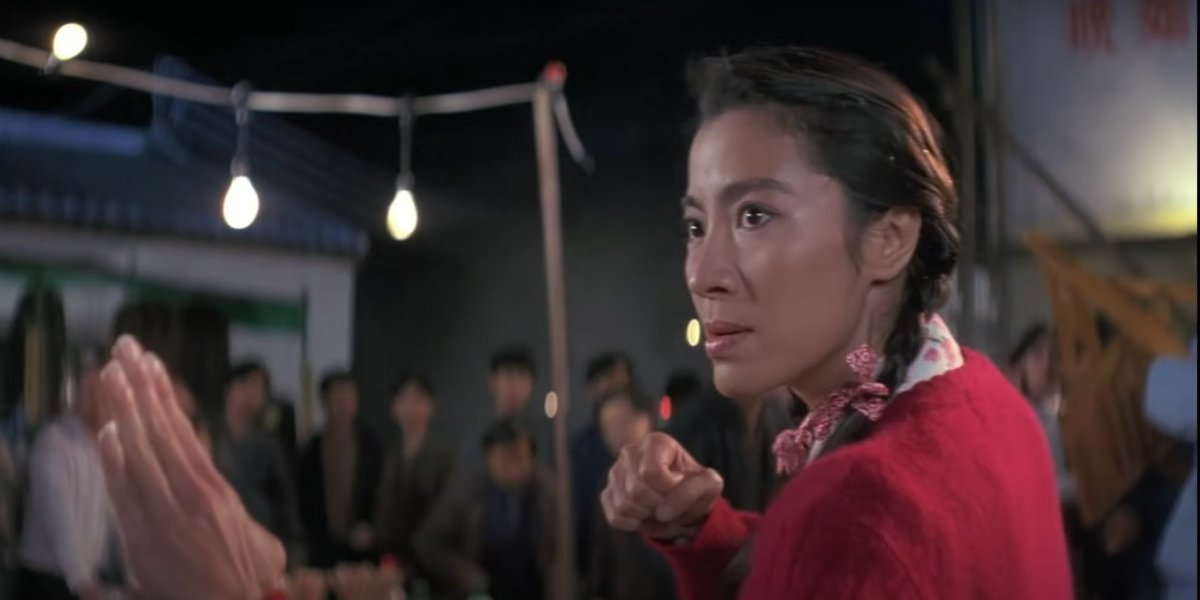 Michelle Yeoh in Police Story 3: Supercop