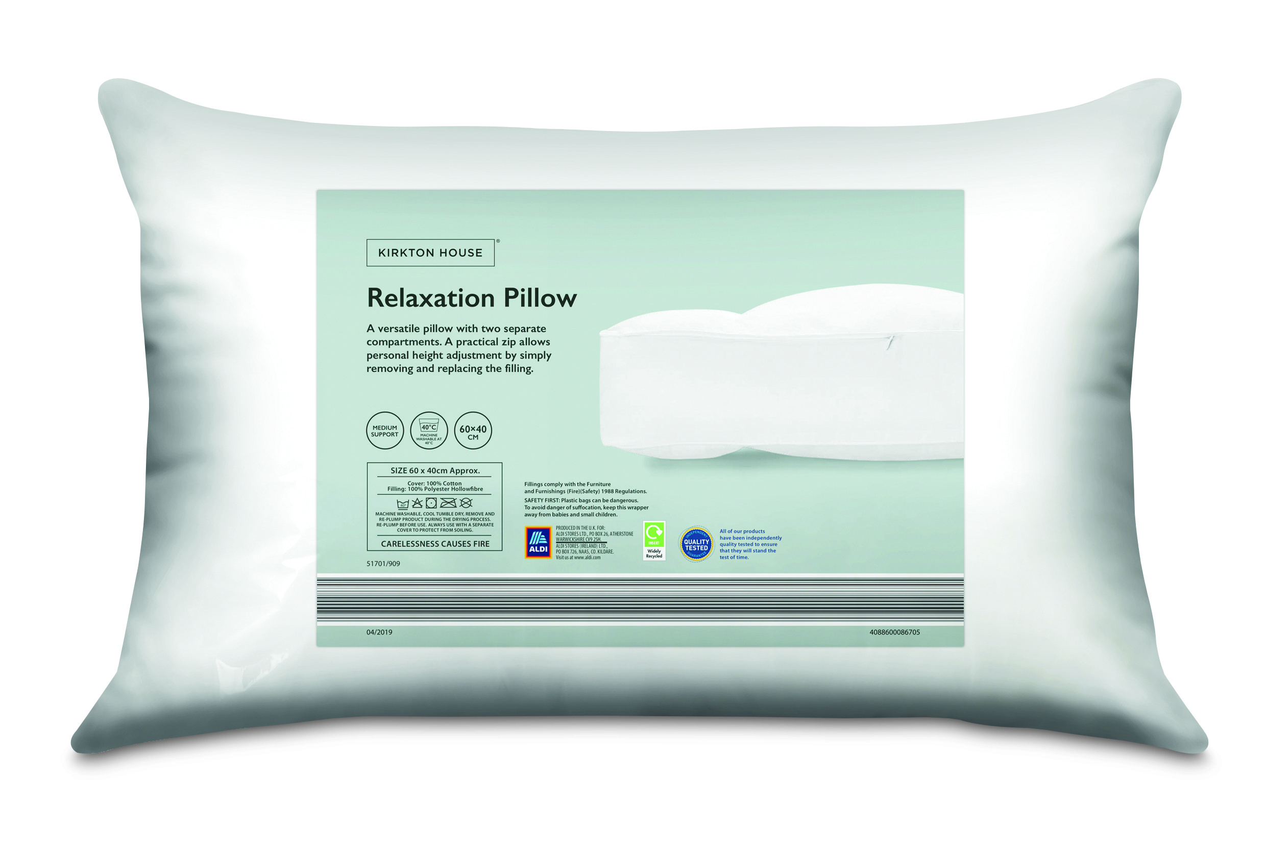 Aldi S Sell Out Anti Snore Pillow Is Making A Return And