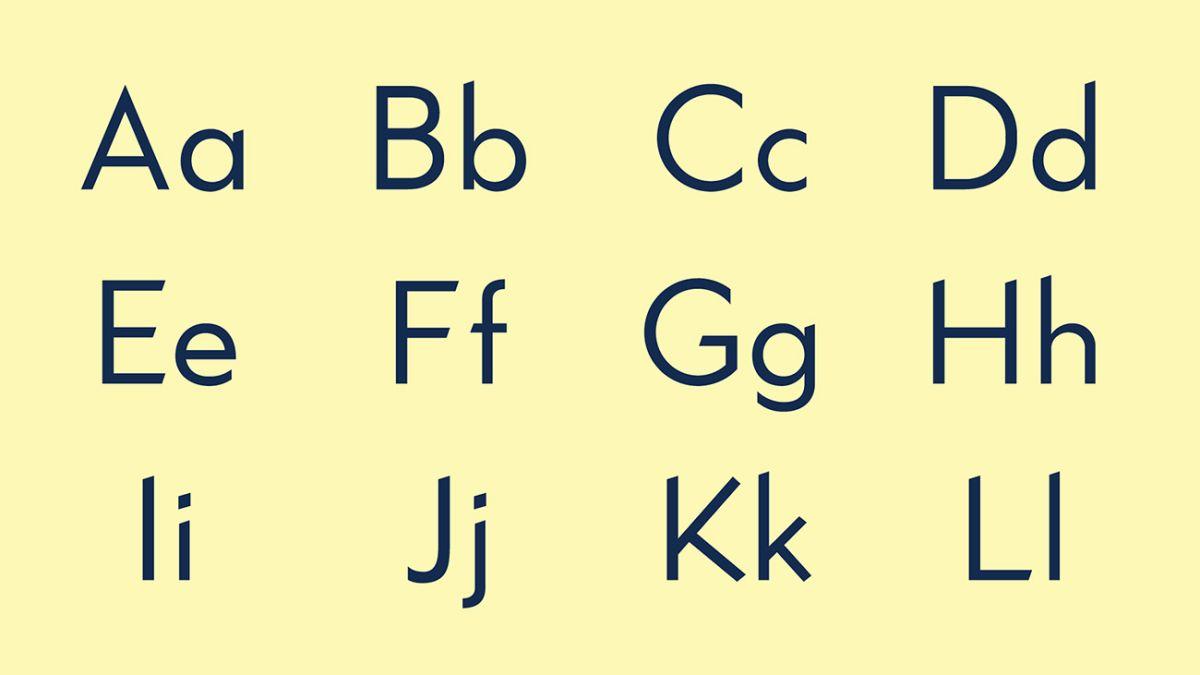 Font types: A designer's guide