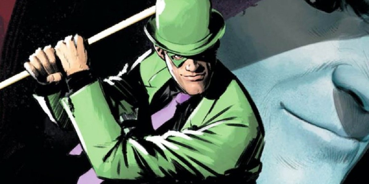 the riddler comic book