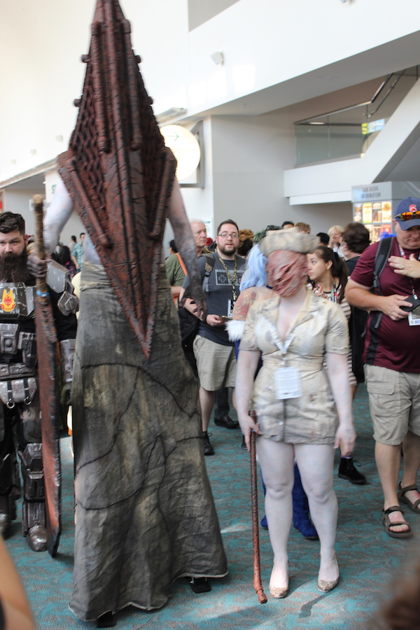 SDCC costume tall