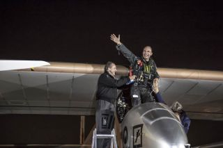 Solar Impulse Lands in Washington, D.C.