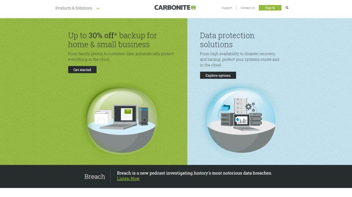 Carbonite Review Techradar