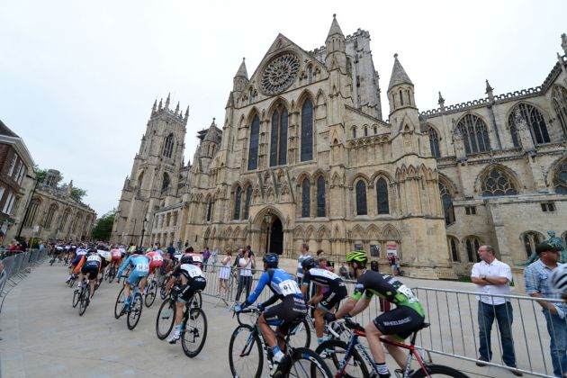 York Minster featured on day 2 of Yorkshire's Grand Depart