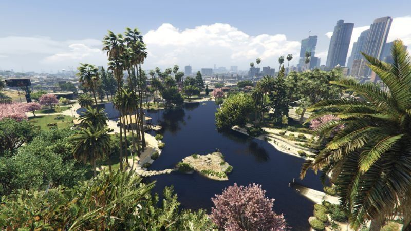 GTA 5 gets a cloud retexture mod that's out of this world   PC Gamer