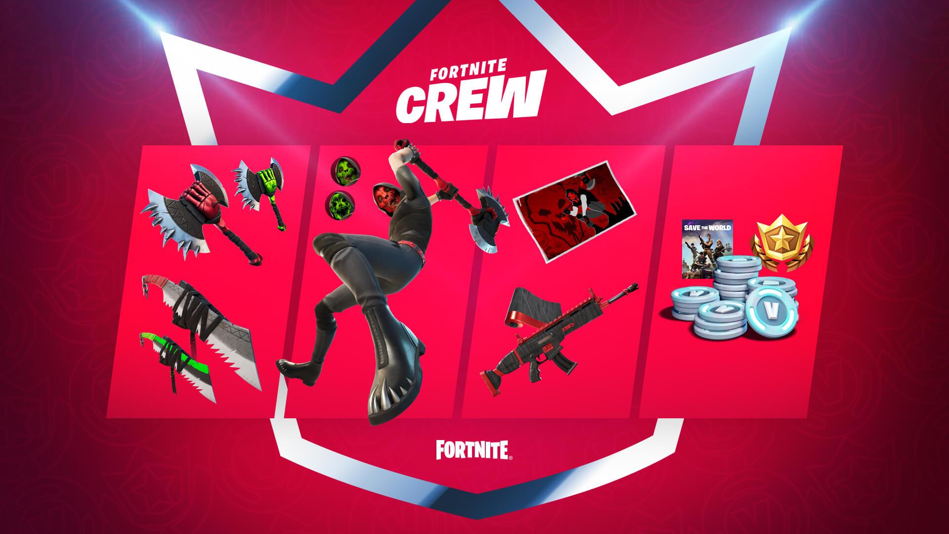 Deimos Fortnite Crew pack