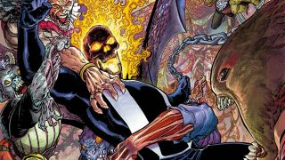 Marvel ghosts readers who were expecting four solicited comic books starring Ghost Rider