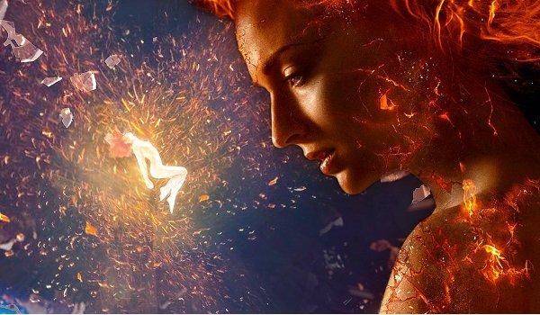 X-Men: Dark Phoenix Jean Grey is on fire
