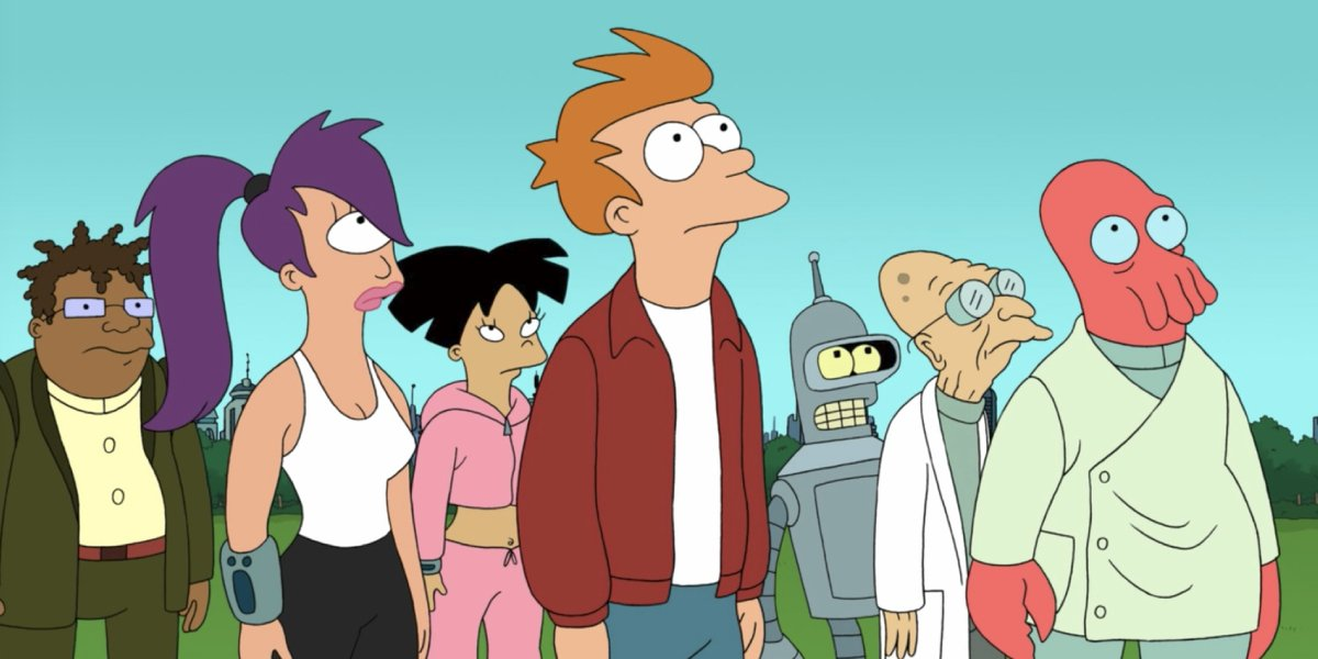 The eclectic ensemble of Futurama