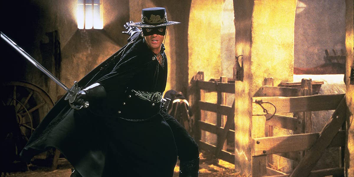 Antonio Banderas as Zorro