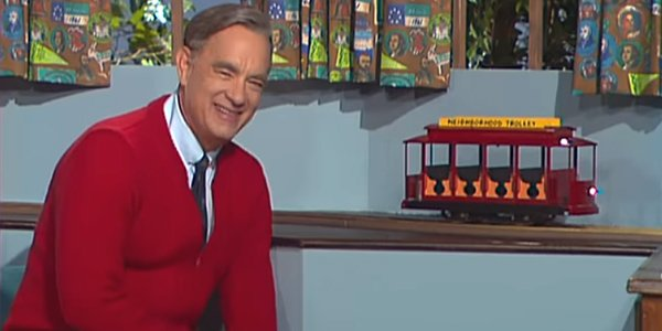A Beautiful Day In The Neighborhood Trailer Tom Hanks Shows Mister Rogers Is America S Greatest Superhero Cinemablend