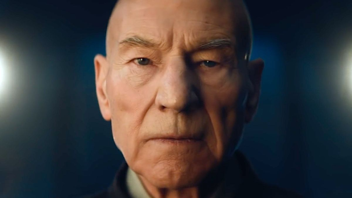 """Why did you leave Starfleet?"" - Captain Picard is back in a new teaser giving us more info on Star Trek: Picard"