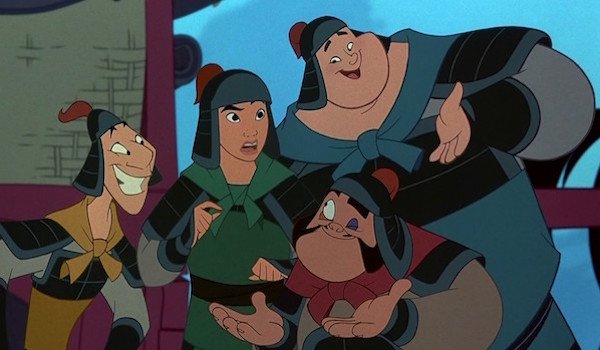 Yao, Ling And Chien Po in Mulan