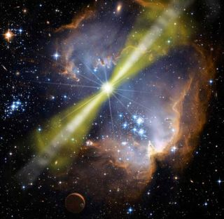 Scream of Black Hole's Birth Detected Halfway Across the Universe